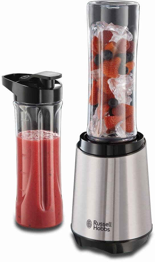 RUSSELL HOBBS Smoothie-Maker Mix & Go Steel 23470-56, 300 W