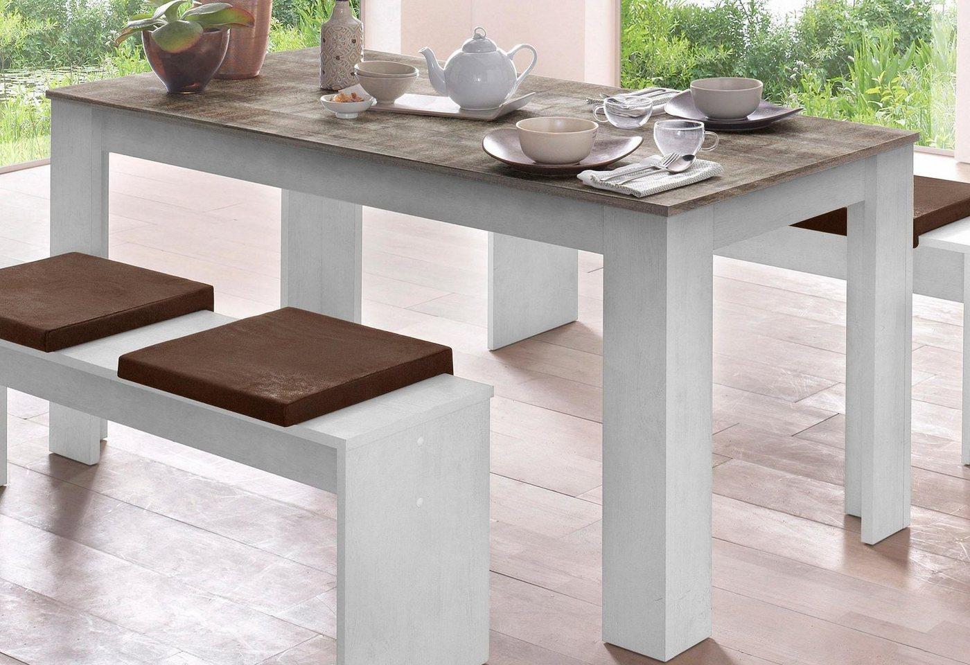 Tisch, weiß, ohne...