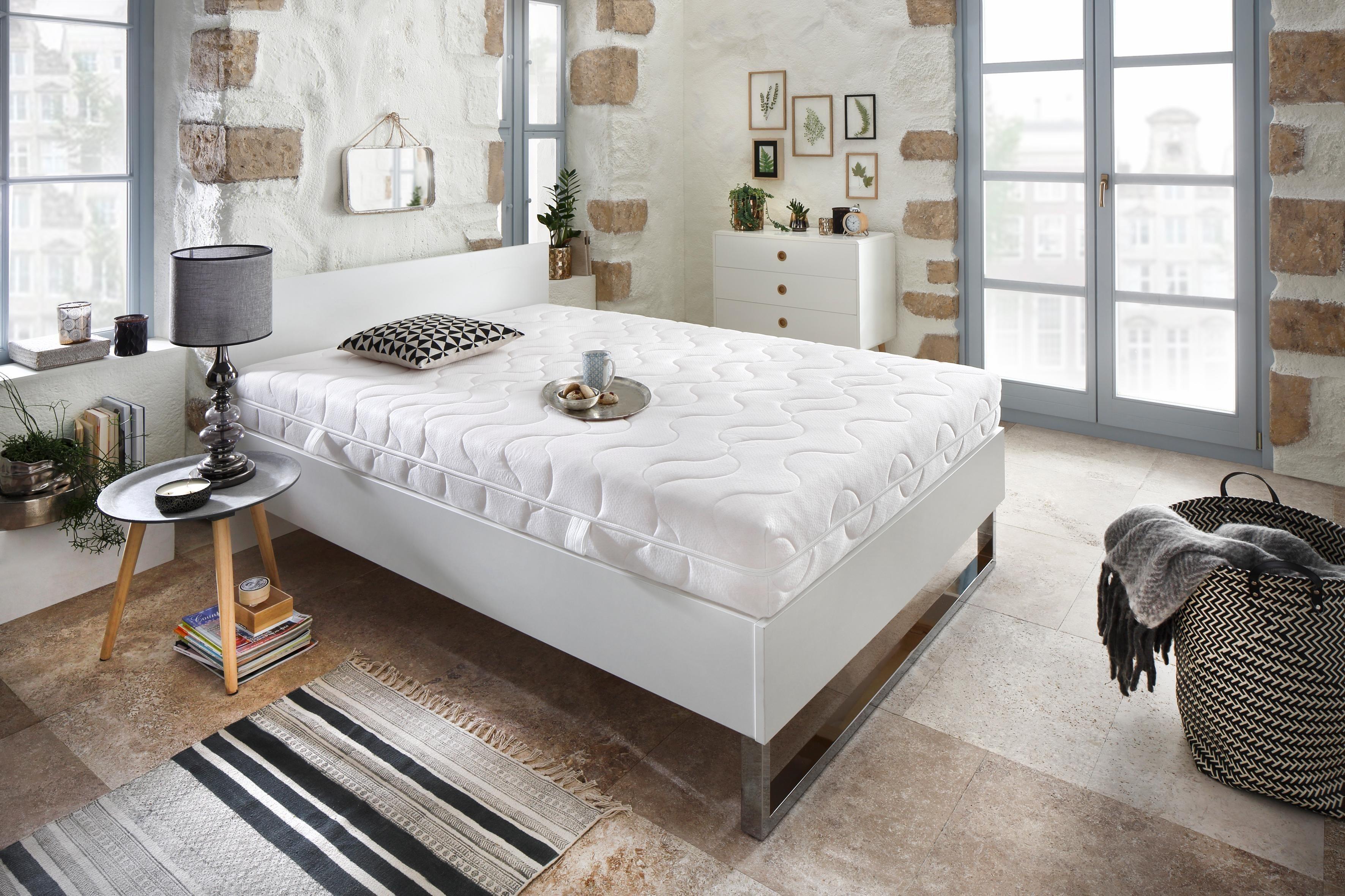 Komfortschaummatratze »Double Deluxe 20«, Beco, 20 cm hoch, Raumgewicht: 28, (1-tlg), TÜV-Testurteil ´´GUT´´, top in Preis-Leistung | Schlafzimmer > Matratzen > Kaltschaum-matratzen | Beco