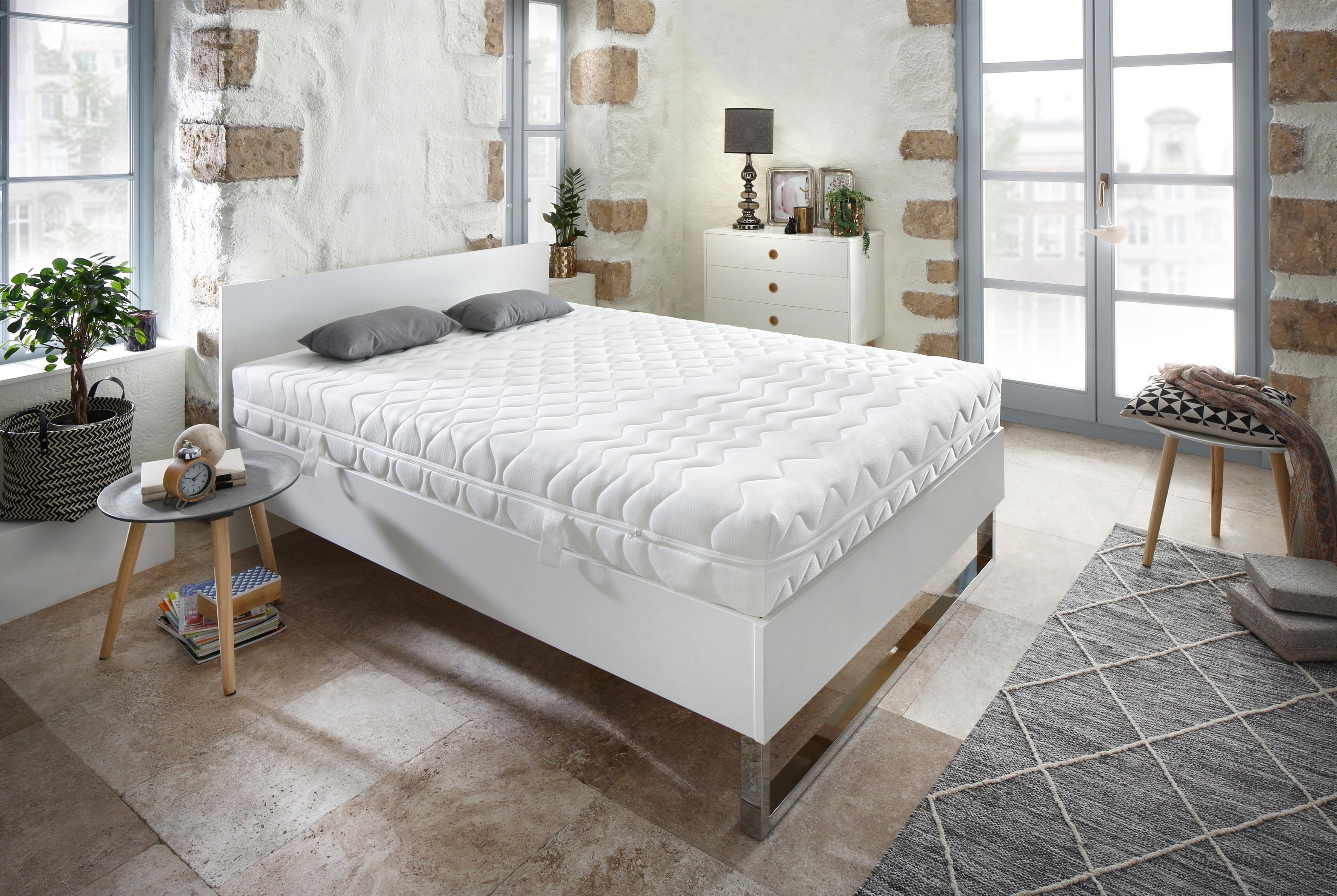 Komfortschaummatratze »7-Zonen«, my home, 17 cm hoch, Raumgewicht: 30, (1-tlg) | Schlafzimmer > Matratzen > Kaltschaum-matratzen | my home