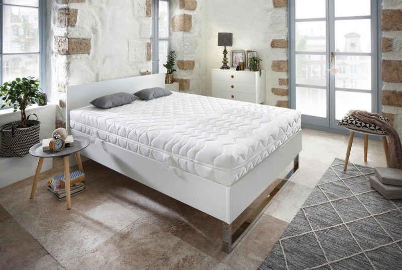 Komfortschaummatratze »ProVita Flex 21 S«, fan Schlafkomfort Exklusiv, 21 cm hoch, Raumgewicht: 30, (1 oder 2-tlg), ideale Luftzirkulation durch Belüftungskanäle
