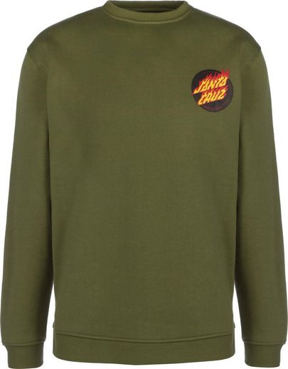 Santa Cruz Sweatshirt »Flaming Japanese Dot Crew«