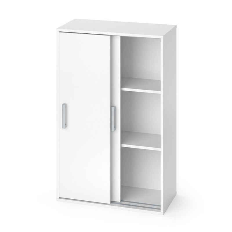 Vicco Schiebetürenschrank »Kleiderschrank FALK Weiß Wäscheschrank Schiebetürenschrank Kinder Zimmer«