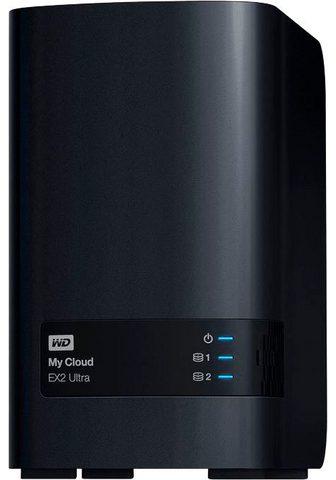 WD My Cloud EX2 Ultra 24TB NAS-Server