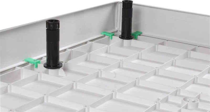 Sanotechnik Eckschürze »SMC«, (für) {Passend für }, für die Duschkabine BT SC9090S