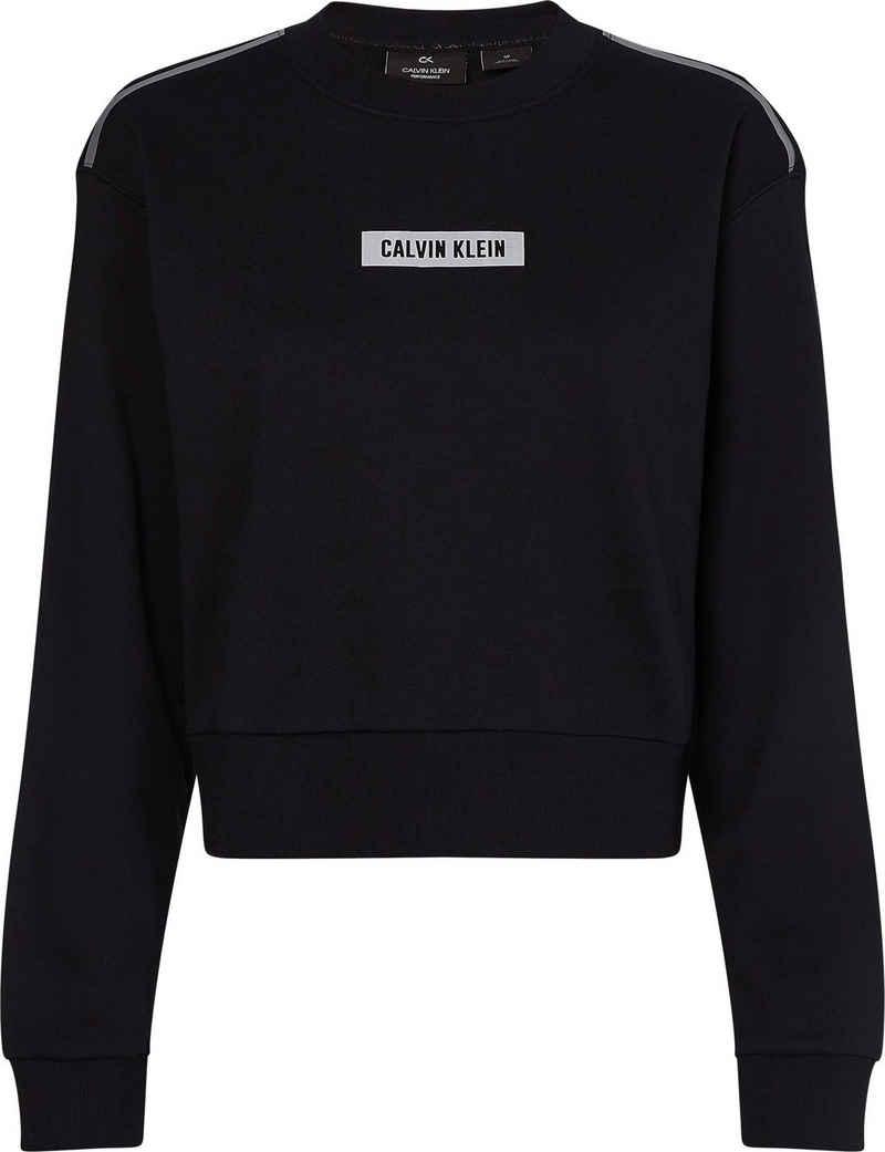 Calvin Klein Performance Sweatshirt »PW - Pullover« mit reflektierenden Kontrastdetails