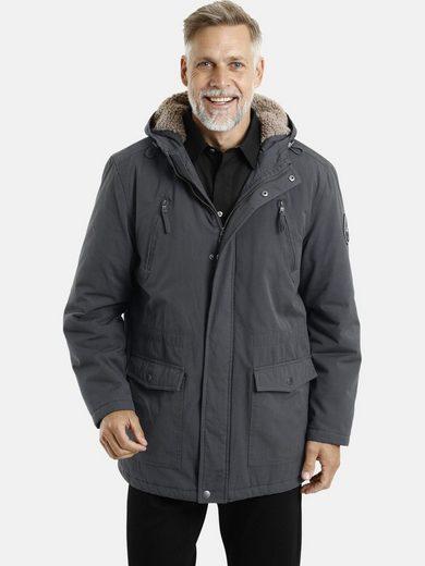 Jan Vanderstorm Parka »ISAK« Winterjacke mit vielen Taschen