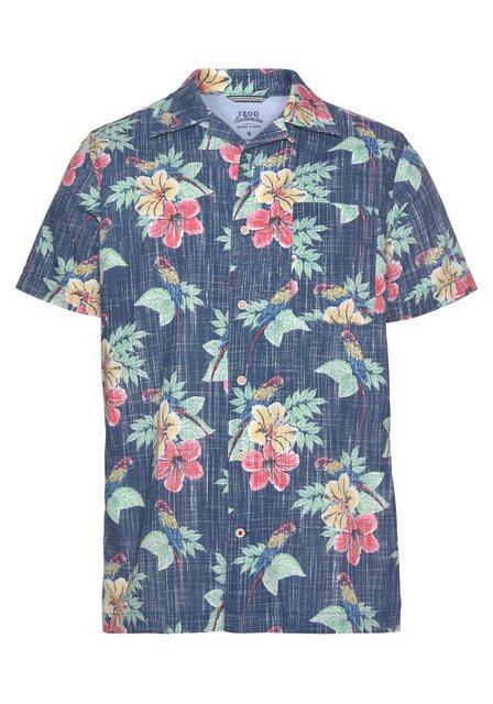 IZOD Kurzarmhemd im Hawaii-Hemd-Look   Bekleidung > Hemden > Hawaiihemden   IZOD