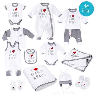 Baby Sweets Erstausstattungspaket »Erstausstattung-Set I love Mama & Papa« (1-tlg)