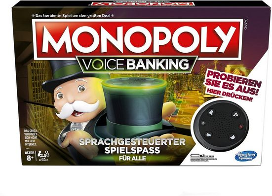 Hasbro Spiel, »Monopoly Voice Activated Banking«