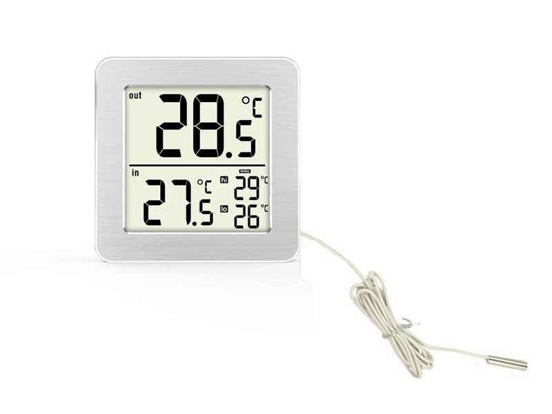 technoline »WS 7049« Wetterstation (Außentemperatur über Kabelsonde)