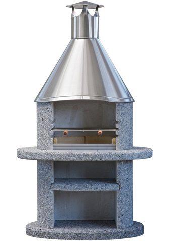 WELLFIRE Grillkamin »Duna« BxTxH: 110x73x192 cm...