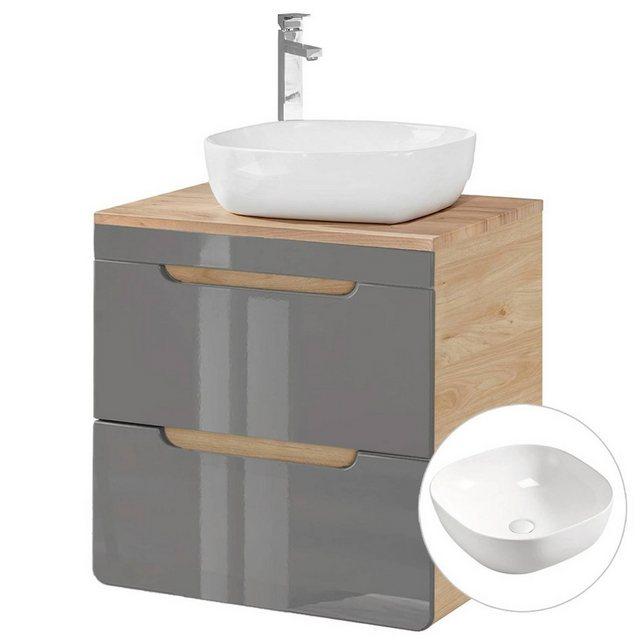Waschtische - Lomadox Waschtisch »LUTON GREY 56«  - Onlineshop OTTO