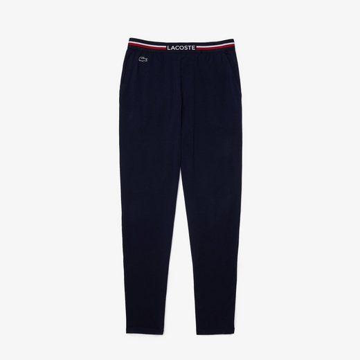 Lacoste Loungehose »Pyjama-Hose in Trikolor«