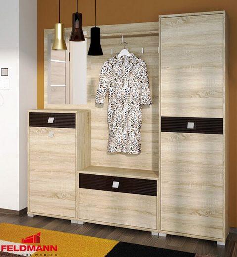 Feldmann-Wohnen Garderobe »BELLA«, - mit Spiegel
