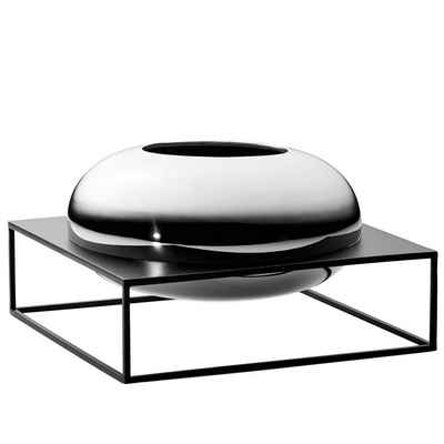 PHILIPPI Tischvase »Solero XL; Moderne Dekovase aus hochglanzpoliertem Nickel im Ständer aus Stahl«