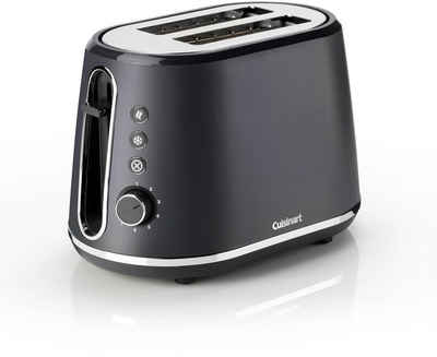 Cuisinart Toaster CPT780E, 2 kurze Schlitze, 1000 W, schiefer grau