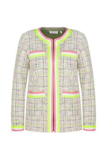 Rich & Royal Jacquardstrickjacke »Jacket jacquard with pockets«