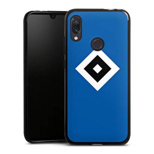 DeinDesign Handyhülle »HSV Blau« Xiaomi Redmi Note 7, Hülle Hamburger SV Logo HSV