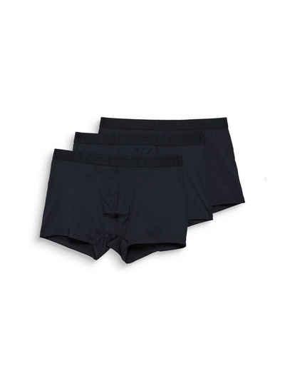 Esprit Boxershorts »3er-Pack Hipster-Shorts mit Kontrastbund«