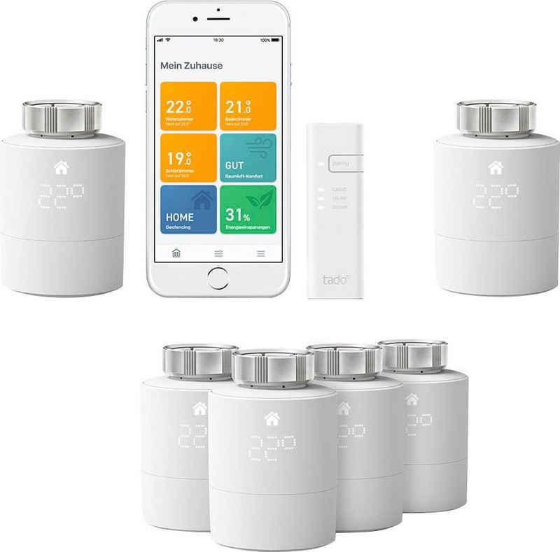 Tado »6x Heizungsthermostate inkl. Internet Bridge V3+« Smart-Home Starter-Set