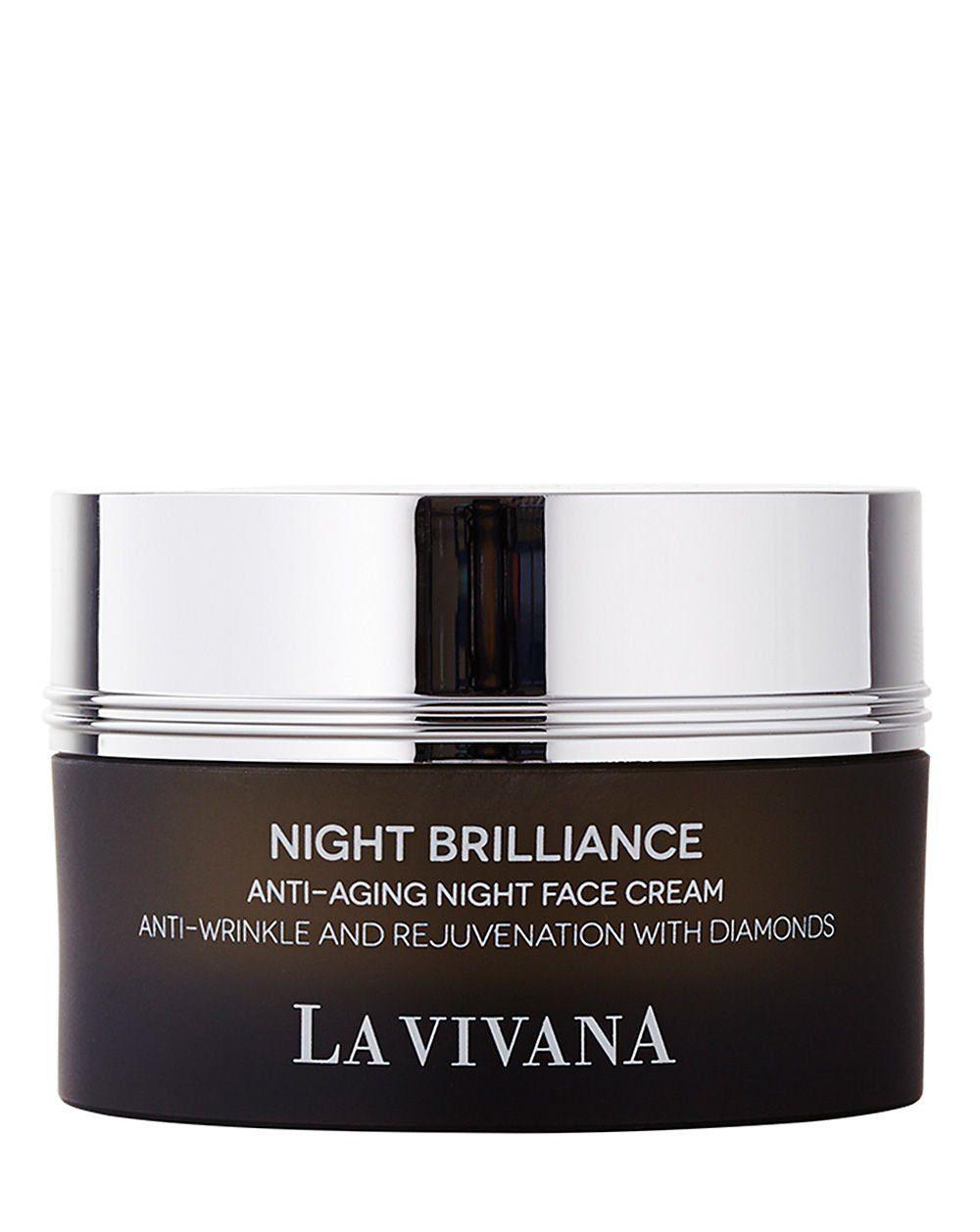 La Vivana Gesichtscreme »Night Brilliance Anti-Aging Night Face Cream«