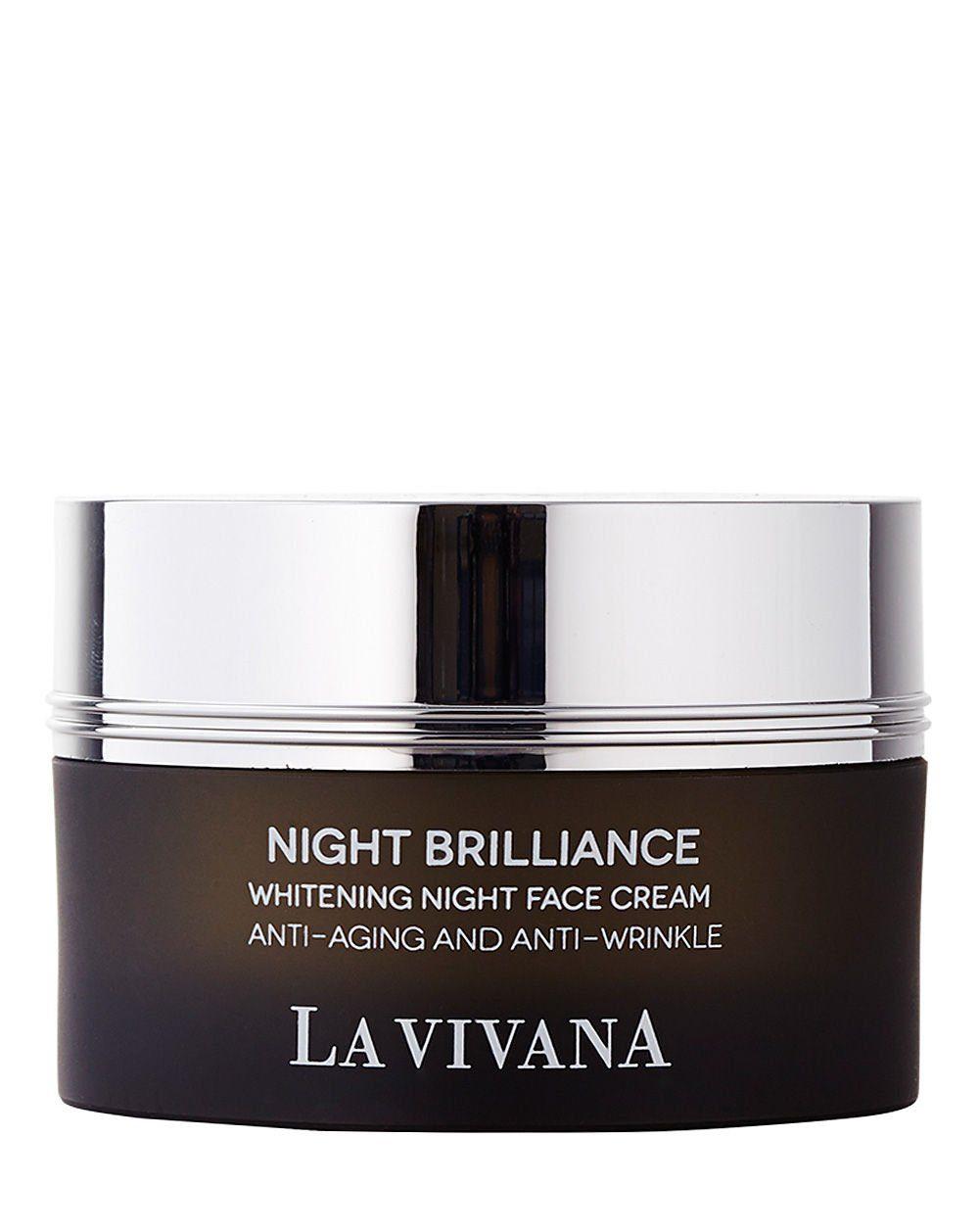 La Vivana Gesichtscreme »Night Brilliance Whitening Night Face Cream«
