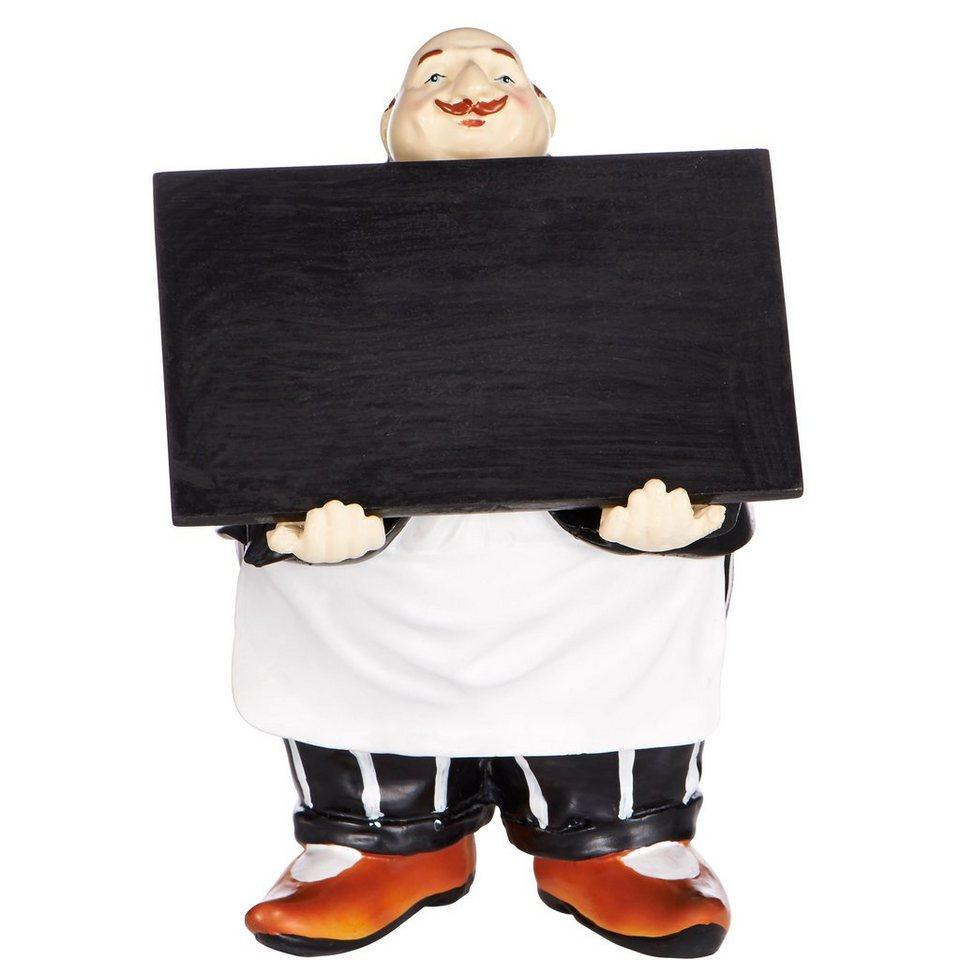 BUTLERS GARÇON »Dekofigur Kellner mit Tafel« in mehrfarbig