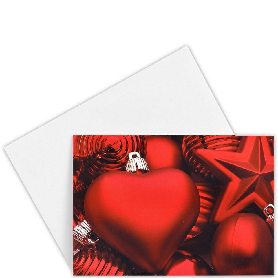 BUTLERS CARD »Christmas Love« in Rotgold