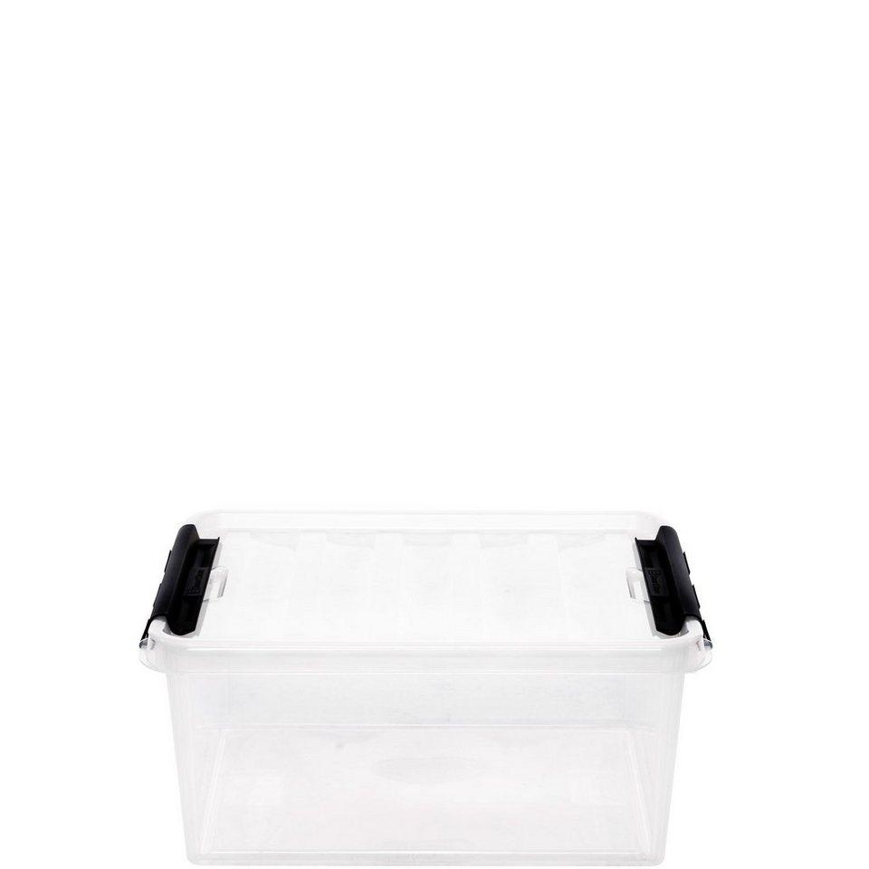 BUTLERS SMART »Aufbewahrungsbox mit Deckel« in Schwarz