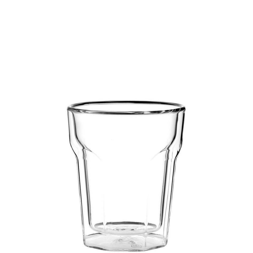 BUTLERS HOT & COLD »Doppelwandiges Glas« in klar