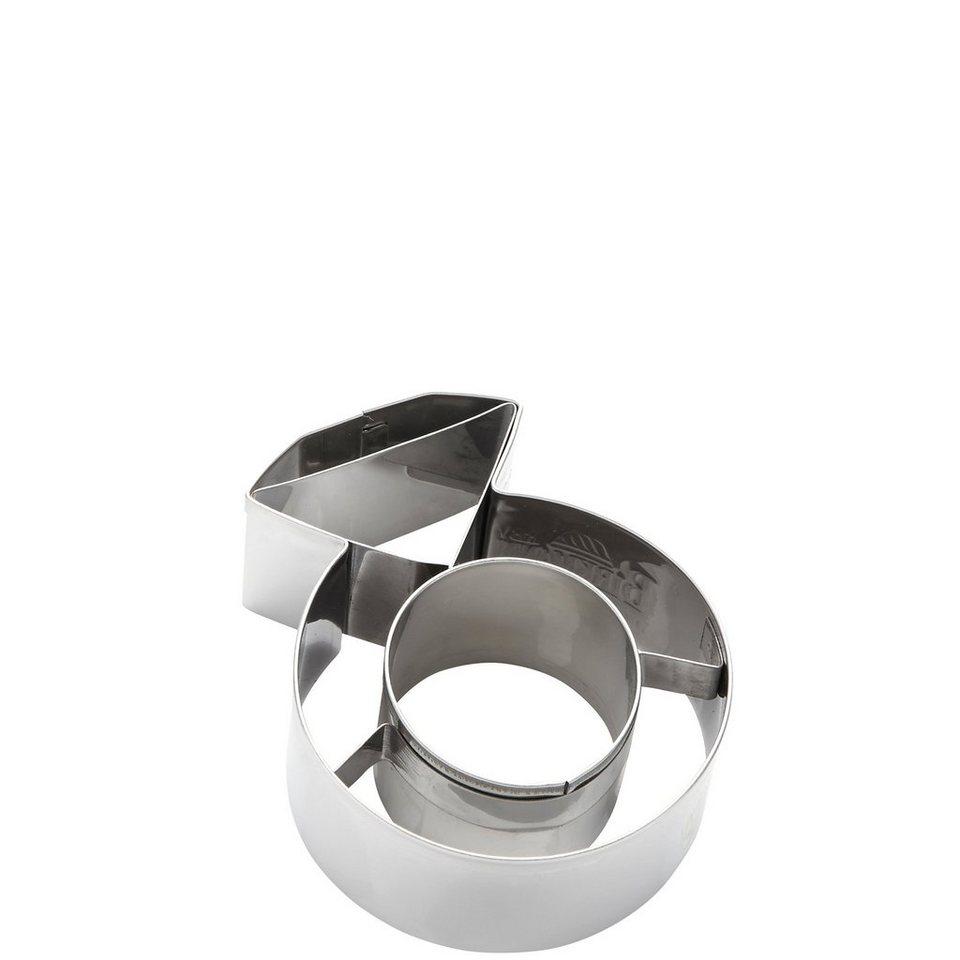 BUTLERS Biscuit »Ausstechform Diamantring« in Silber
