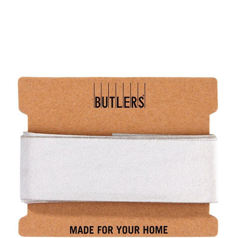 BUTLERS RIBBON »Geschenkband« in gold-silber