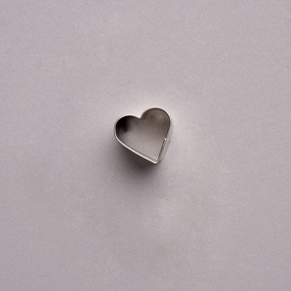 BUTLERS HEART »Ausstechform Herz« in silber