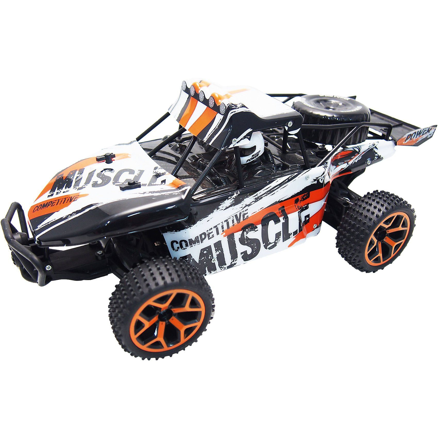 """Amewi RC Sand Buggy Extreme D5 """"white-orange"""" 1:18 4WD RTR"""