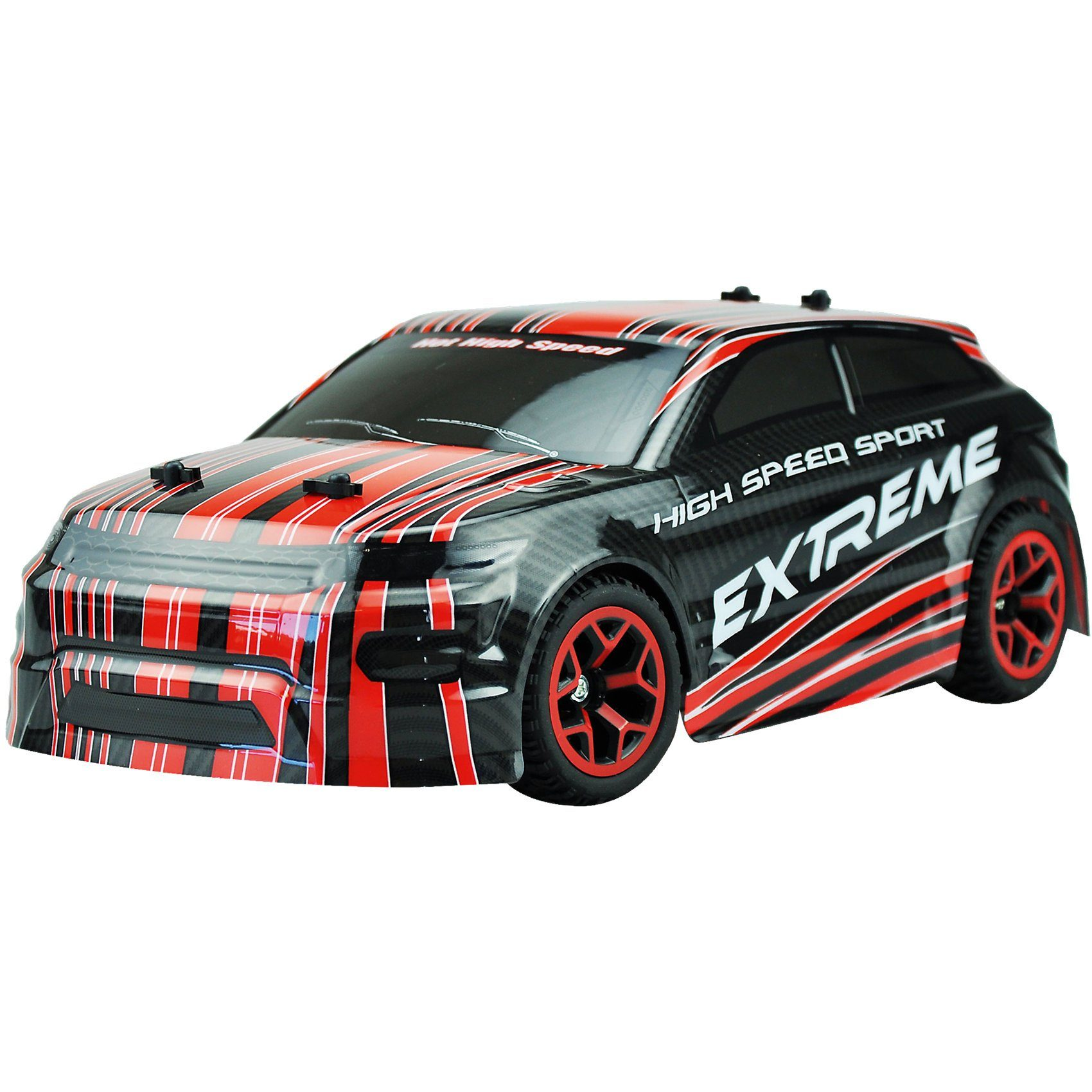 """Amewi RC Rallye Car AM-5 """"Red"""" 1:18 4WD RTR"""