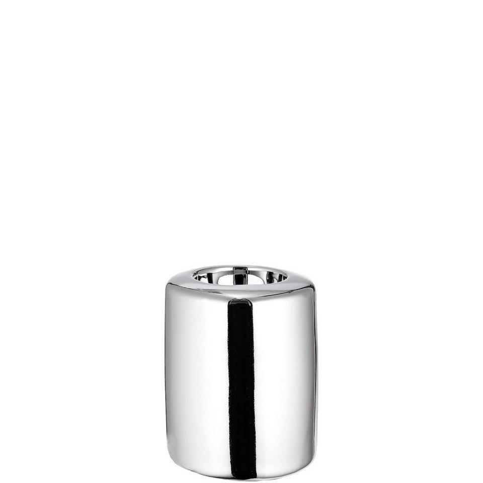 BUTLERS SILVER STONE »Teelichthalter klein« in silber
