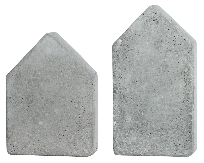 """Gießform """"2 Häuser"""", ca. 13,5 - 16,5 cm"""