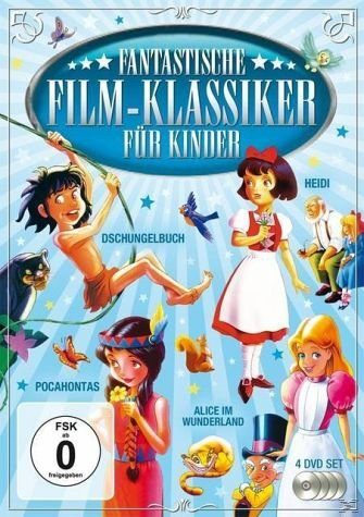 DVD »Fantastische Film - Klassiker für Kinder:...«