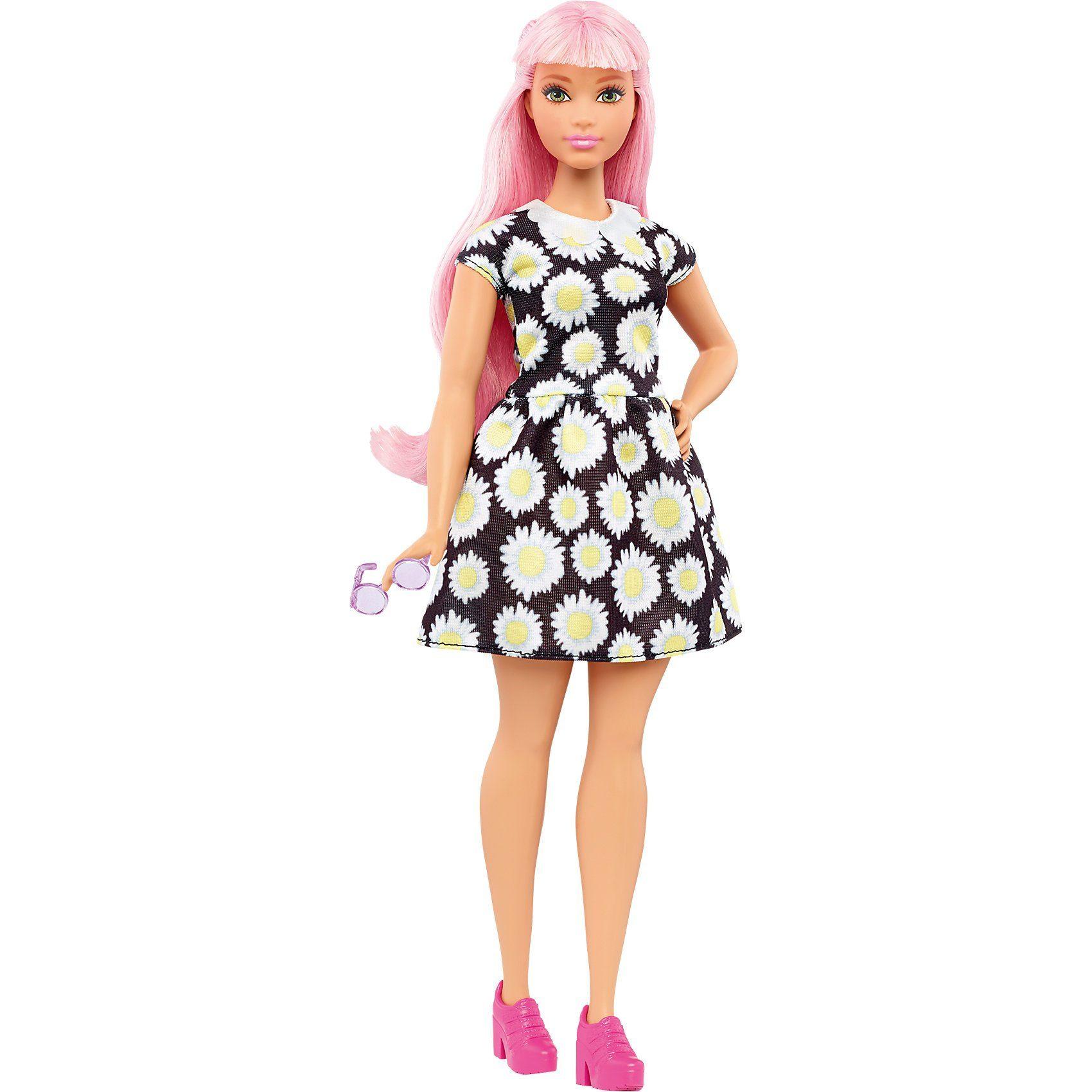 Mattel® Barbie Fashionistas Puppe im Gänseblümchenkleid
