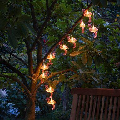 BETTERLIGHTING Lichterkette »Flamingo«, 2 m Länge, mit 10 Flamingos