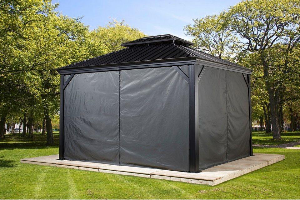 50nrth seitenteile f r pavillon messina 10x12 otto. Black Bedroom Furniture Sets. Home Design Ideas