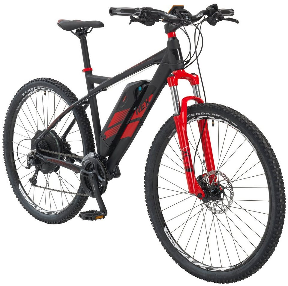 rex e bike mountainbike bergsteiger 780 29 zoll 27 gang heckmotor 499 wh online kaufen otto. Black Bedroom Furniture Sets. Home Design Ideas