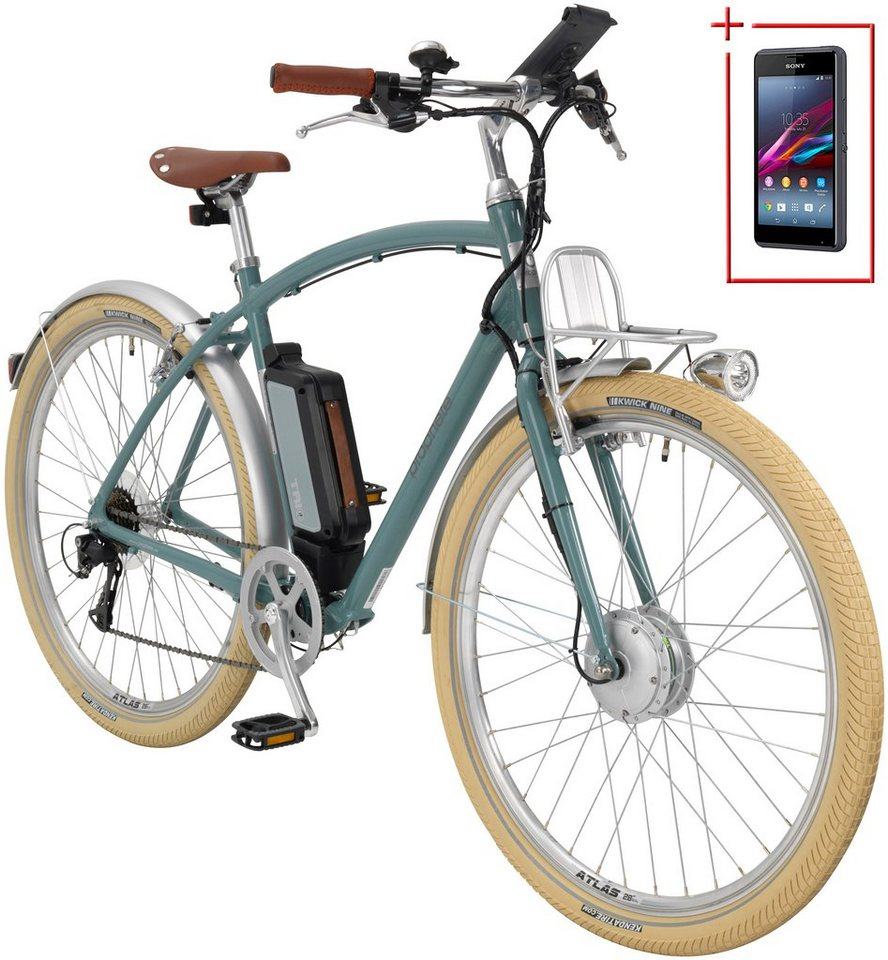 prophete e bike city herren navigator urban retro 28 zoll 8 gang frontmotor 375 wh online. Black Bedroom Furniture Sets. Home Design Ideas