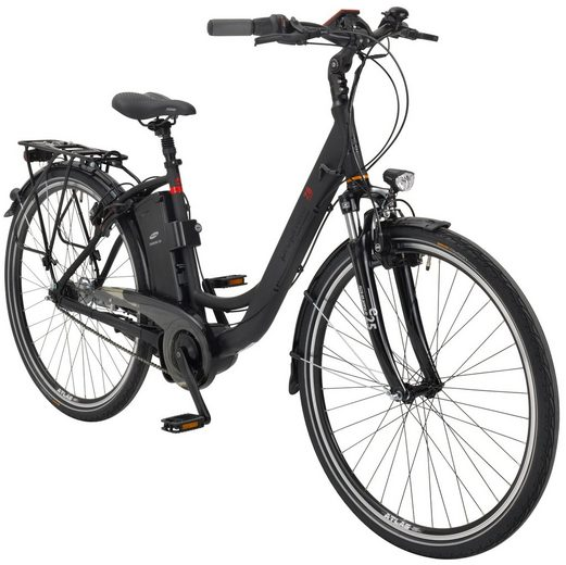 prophete e bike city damen navigator 7 8 28 zoll 7 gang aeg mittelmotor 461 wh online. Black Bedroom Furniture Sets. Home Design Ideas