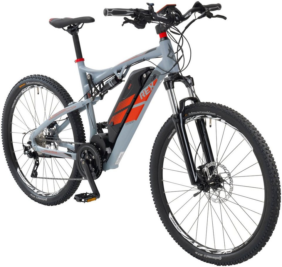 rex e bike mountainbike 27 5 zoll 10 gang mittelmotor. Black Bedroom Furniture Sets. Home Design Ideas