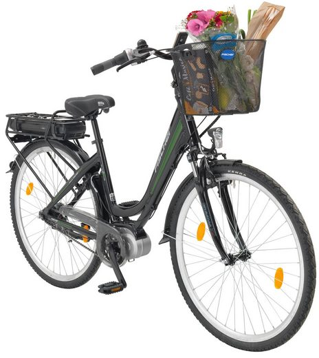 fischer fahrraeder e bike city damen ecu 1703 28 zoll. Black Bedroom Furniture Sets. Home Design Ideas