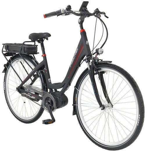 fischer fahrraeder e bike city damen ecu 1720 28 zoll. Black Bedroom Furniture Sets. Home Design Ideas