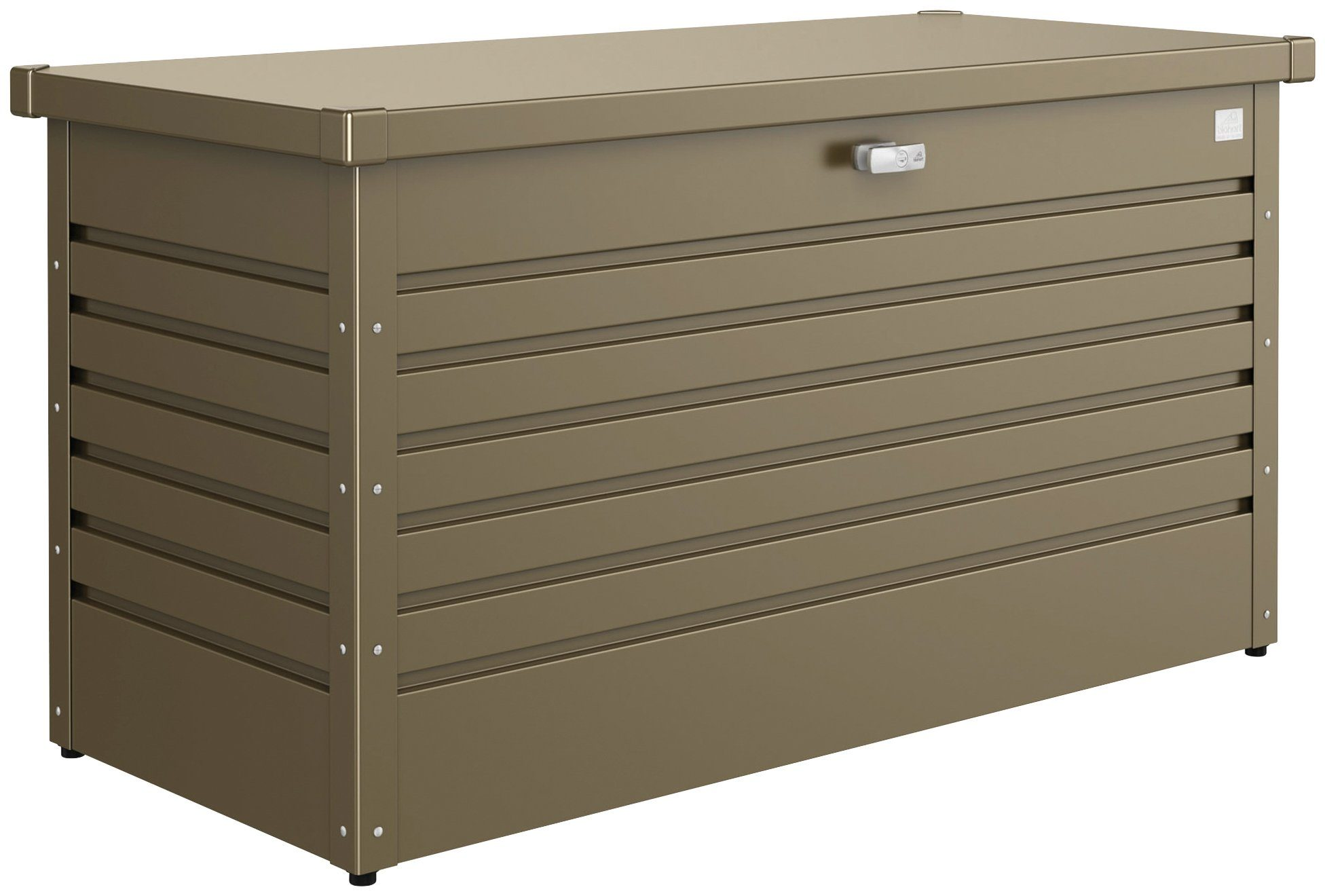 Biohort Aufbewahrungsbox »Freizeitbox 130«, B/T/H: 134/62/71 cm, bronzefarben metallic