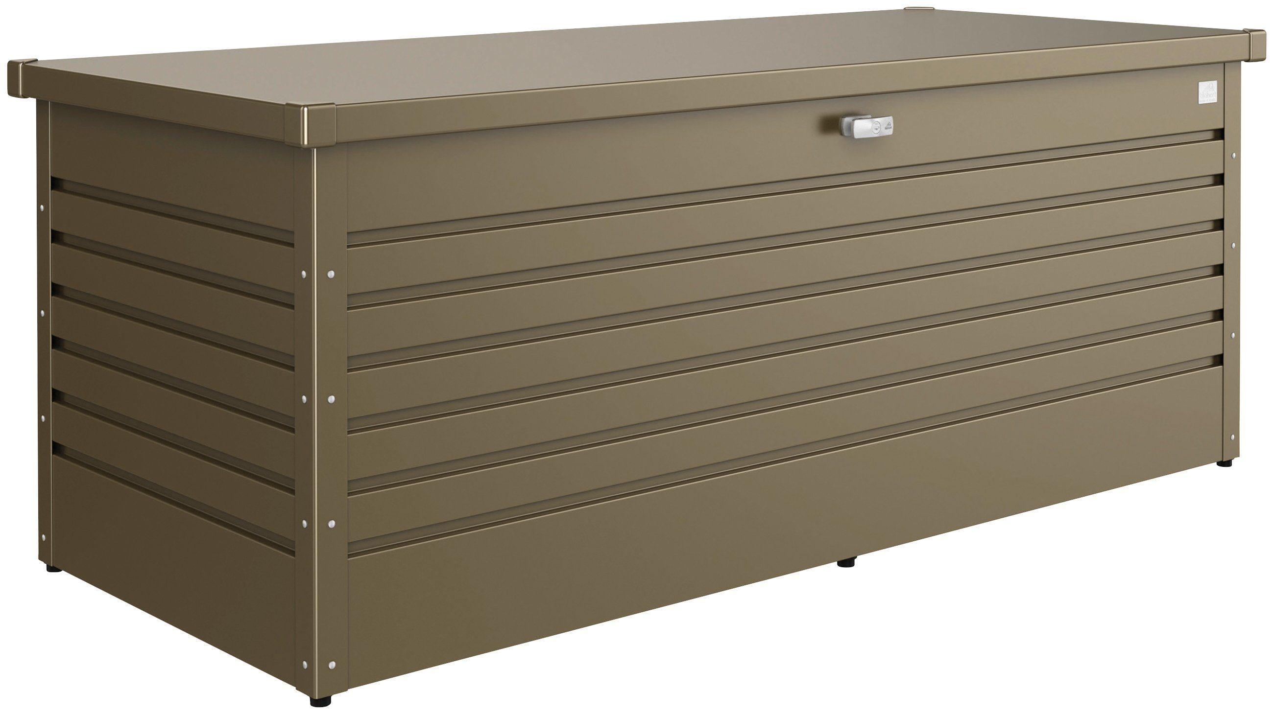 Biohort Aufbewahrungsbox »Freizeitbox 180«, B/T/H: 181/79/71 cm, bronzefarben metallic